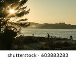 Sunset On Fort Balaguier On Th...