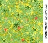 funny fresh seamless pattern... | Shutterstock .eps vector #603891263