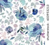 Seamless Pattern With A Floral...