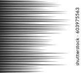 straight  parallel lines... | Shutterstock . vector #603975563