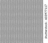 wavy zigzag lines seamless... | Shutterstock . vector #603977117