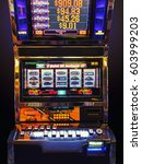Small photo of fragment like view of slot machine in las vegas casino