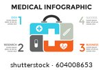 vector plus infographic ... | Shutterstock .eps vector #604008653
