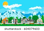 Private Suburban Houses With...