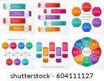 infographics frames.... | Shutterstock .eps vector #604111127
