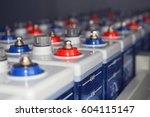 An Electric Dc Battery At An...