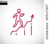 graph icon vector. | Shutterstock .eps vector #604117607