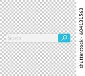 search bar field. vector... | Shutterstock .eps vector #604131563