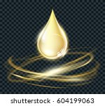 vector circle light effect with ...   Shutterstock .eps vector #604199063