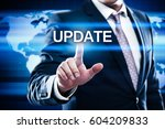 update software computer... | Shutterstock . vector #604209833