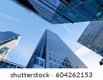 london office building... | Shutterstock . vector #604262153