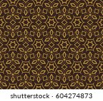modern stylish texture.... | Shutterstock .eps vector #604274873