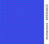 brickwork. colored abstract... | Shutterstock .eps vector #604324613