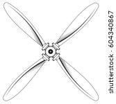 Illustration Of A Propeller...