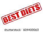 best diets red stamp text on... | Shutterstock .eps vector #604400063