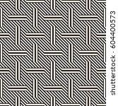 vector seamless pattern. modern ... | Shutterstock .eps vector #604400573