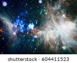 galaxy   elements of this image ...   Shutterstock . vector #604411523