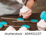 masterclass of preparing...   Shutterstock . vector #604431137