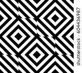 vector seamless pattern.... | Shutterstock .eps vector #604436987