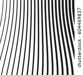 black and white striped lines.... | Shutterstock .eps vector #604469837