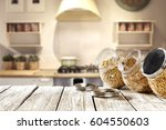 breakfast time  | Shutterstock . vector #604550603