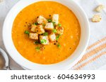 Vegetable Carrot Soup With...