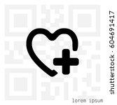 favorites icon. vector... | Shutterstock .eps vector #604691417