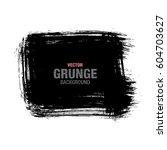 vector grunge background | Shutterstock .eps vector #604703627