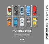 City Car Parking Vector...