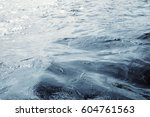 Water Surface With Ripples And...