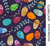 Easter Pattern. Seamless...