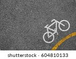 bicycle icon background texture ... | Shutterstock . vector #604810133