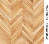 seamless wood parquet texture ... | Shutterstock . vector #604819907