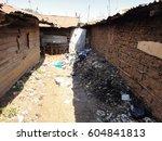 kibera slum kenya   september... | Shutterstock . vector #604841813