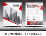 annual report brochure flyer... | Shutterstock .eps vector #604855823