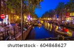 amsterdam  netherlands   may 5  ... | Shutterstock . vector #604868627
