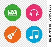 Musical Elements Icons. Musica...