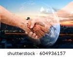 industry 4.0 internet of things ... | Shutterstock . vector #604936157