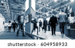 big trade fair | Shutterstock . vector #604958933