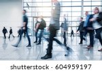 business people walking on a... | Shutterstock . vector #604959197