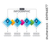infographic flowchart template. ...
