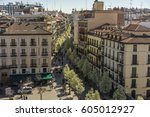 madrid  spain. march 20  2017.... | Shutterstock . vector #605012927