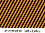 line orange and black color...   Shutterstock .eps vector #605051033