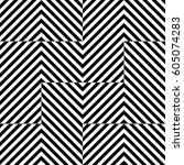 vector seamless pattern.... | Shutterstock .eps vector #605074283