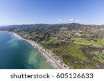 Spring Aerial View Of Malibu...