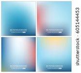 abstract creative concept... | Shutterstock .eps vector #605144453