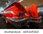 stuttgart  germany   march 02 ... | Shutterstock . vector #605169263