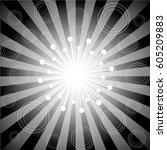 sunburst backgrounds | Shutterstock .eps vector #605209883