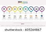 timeline infographics design... | Shutterstock .eps vector #605264867