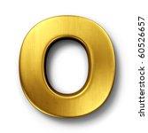 3d rendering of the letter o in ...   Shutterstock . vector #60526657